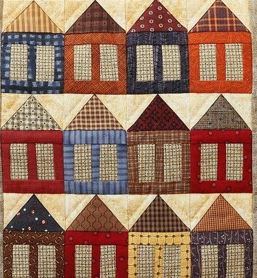 Quilt houses cropped © Jilly Spoon