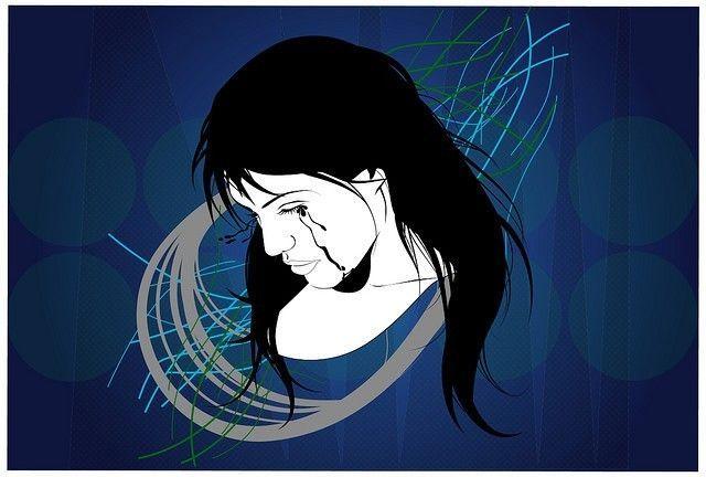Sad woman graphic ©Crystal Creative Commons