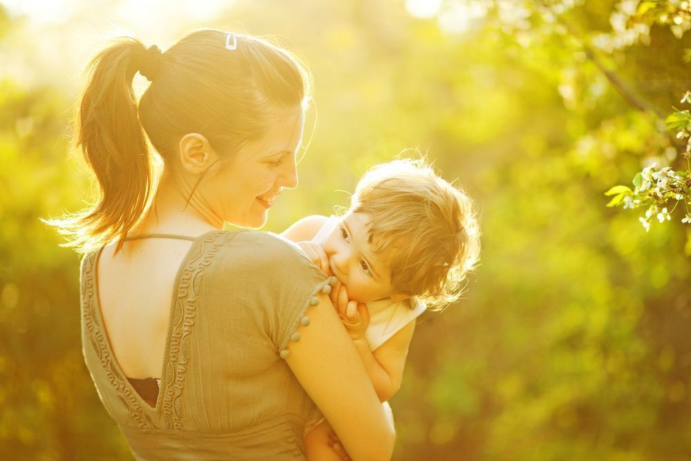Mother and child spring shutterstock_101789917