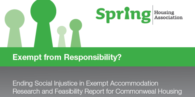 Exempt From Responsibility? Report title page